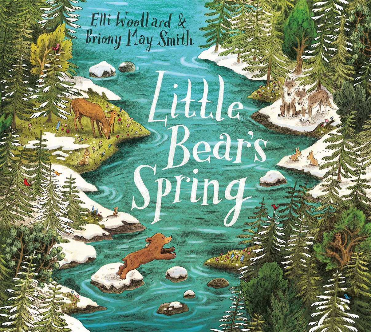 Little Bear's Spring by Elli Woollard and Briony May Smith (44854181)