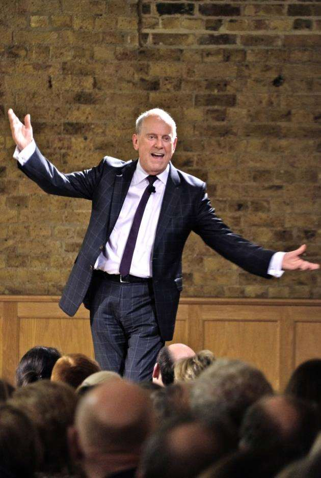 Gyles Brandreth at the Bishops Stortford College Festival of Literature Picture: Ian Taylor
