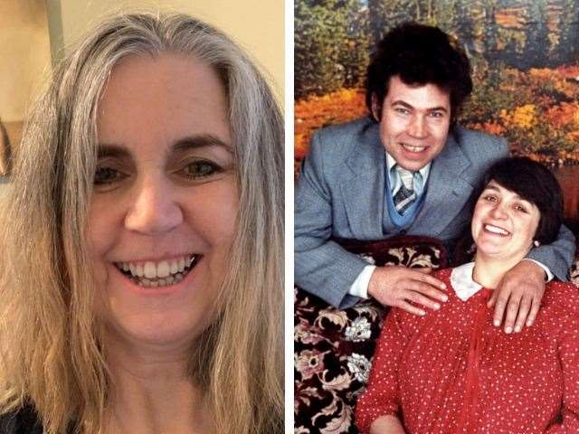 Jenny Ashcroft, left, and serial killers Fred and Rosemary West (46785788)