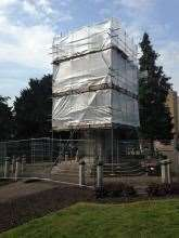 Preservation work was carried out on the memorial in 2014