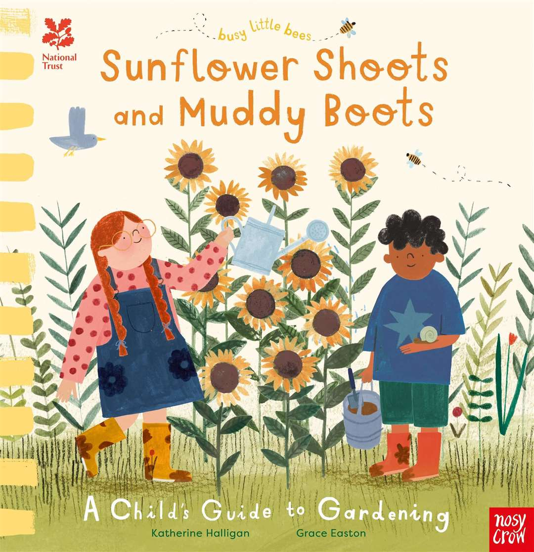 Sunflower Shoots and Muddy Boots by Katherine Halligan and Grace Easton (46204158)