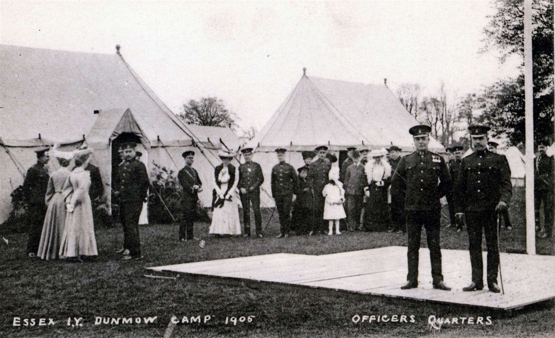 Prize-giving day at the Essex Yeomanry camp, 1905 (13343934)