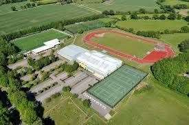 Wodson Park Sports Centre in Ware comprises an athletics track, football pitches, netball and tennis courts and sports halls (43196820)