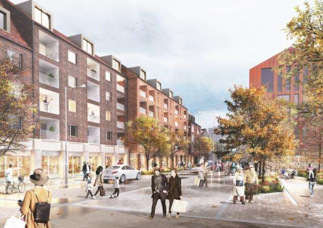 Solums vision for Bishops Stortfords station square