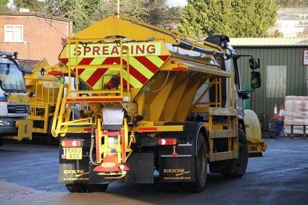 Herts County Council gritter. (42516719)