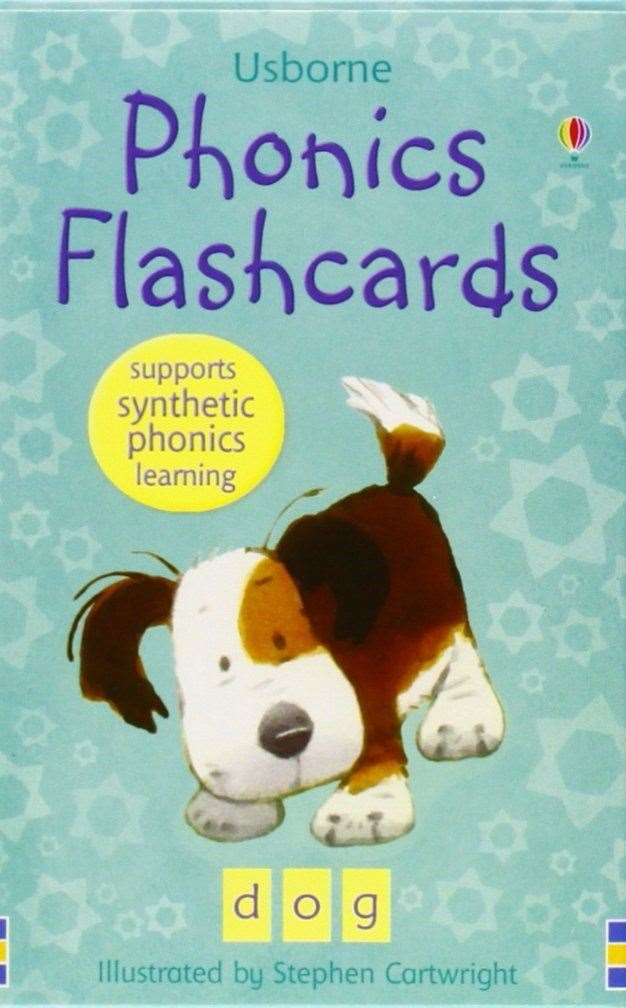 Phonics Flashcards by Usborne (43942250)