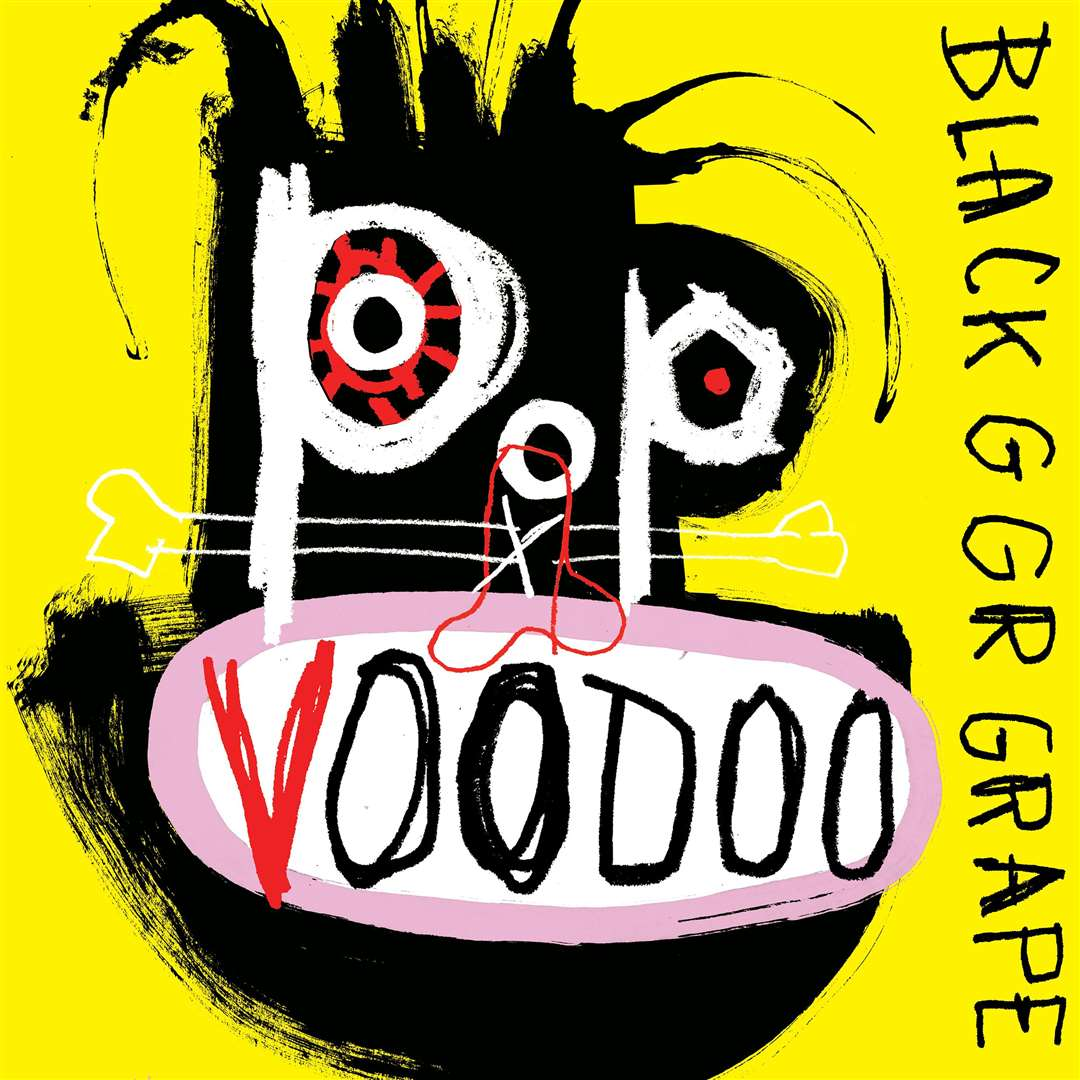 The cover to Black Grape's album Pop Voodoo (9380881)