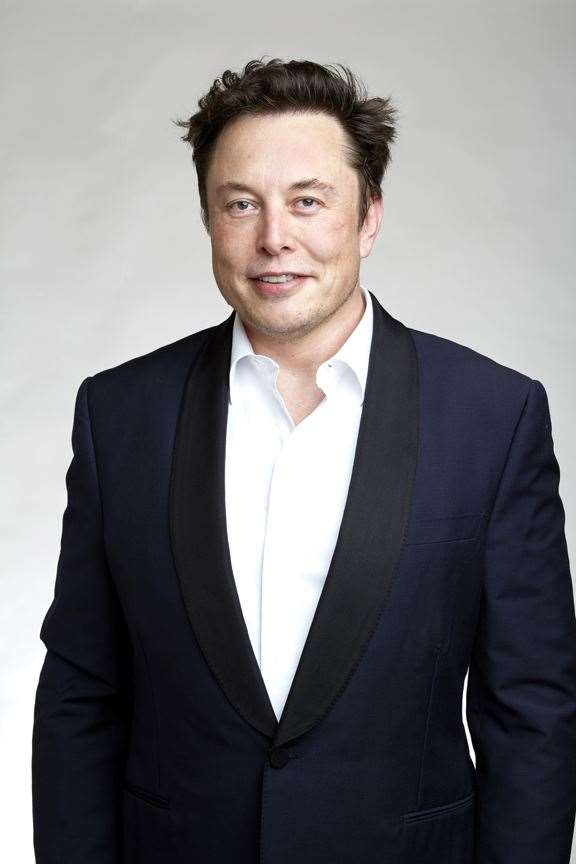 Elon Musk, founder of Space X