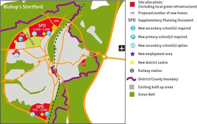 East Herts District Plan BS section