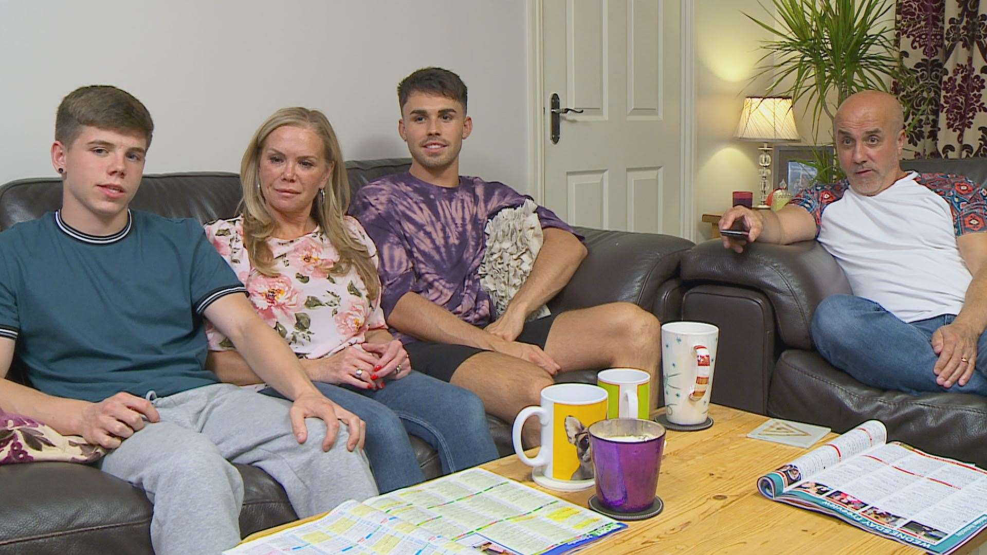 The Baggs family are one of Gogglebox's newest additions. Pic by Channel 4 (42239421)